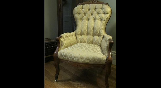 Parlour Chair-after Brown